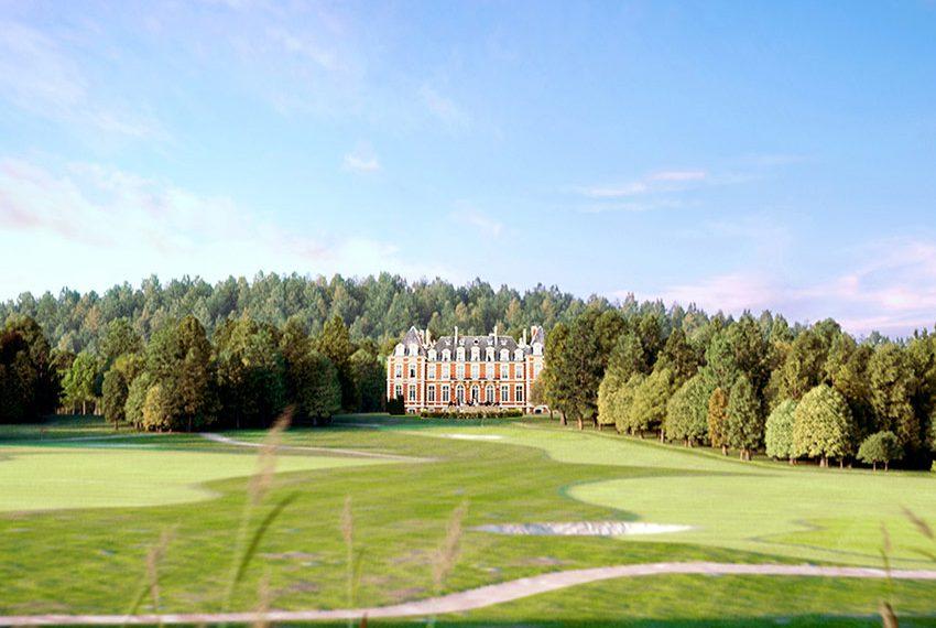 recreatief vastgoed aan golfbaan als investering met gewaarborgd rendement te frankrijk