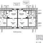 plan eerste verdieping twee appartementen ook gerenoveerd