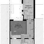plan verdieping 1 gebouw met studio's te koop in leuven