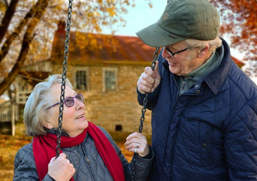zorgeloos genieten van oude dag dankzij extra pensioeninkomen via verhuurvastgoed