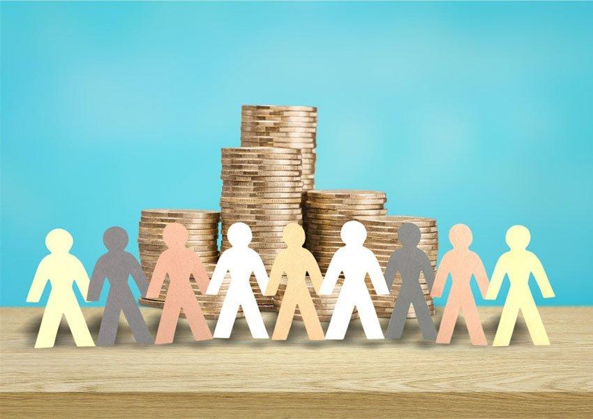 diversifieer uw spaarkapitaal over voldoende verschillende particuliere leningen