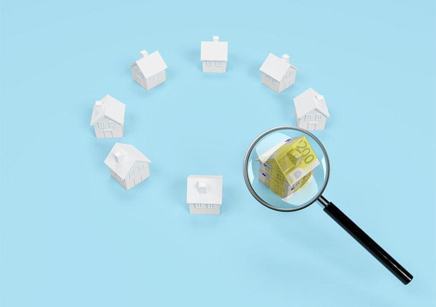 slechte locatie van opbrengsteigendom is beginnersfout door beleggers die beginnen in vastgoed