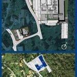 inplantingsplan nieuwbouw residentie met studios en appartementen te koop tivat montenegro
