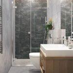 moderne strakke luxe inrichting van badkamers in appartementen