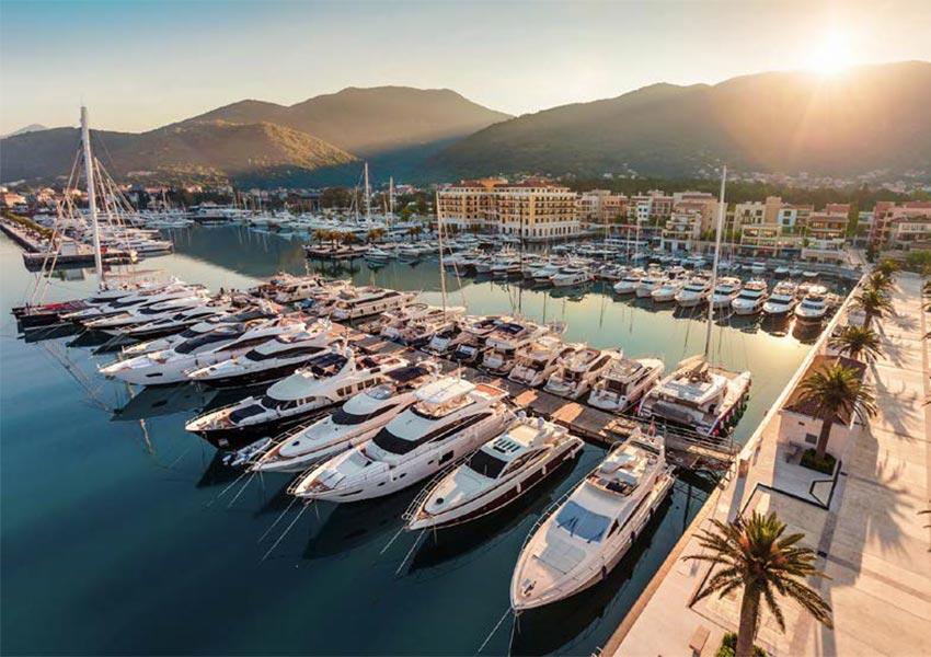 porto montenegro luxe jachthaven in baai van boka unesco werelderfgoed