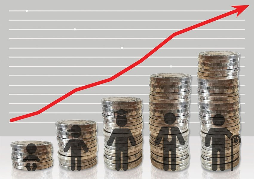 potentiële stijging in koopkracht en budget is valide reden om te investeren in vastgoed