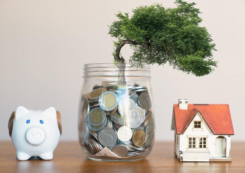potentiële waardestijging van vastgoedinvestering is mooi bonusrendement