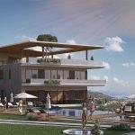 tuin en zwembad van kleinschalige residentie op 8 minuten van internationale luchthaven in tivat