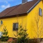 achterkant woning in zweden te koop met twee slaapkamers direct rendement want reeds verhuurd