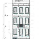 details voorgevel studentenhuis met studentenflats te koop in leuven