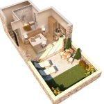luxe villa met 1 slaapkamer te koop op eiland samos gelijkvloerse verdieping