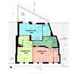 plan eerste verdieping luxe kamers en studios te koop in leuven