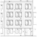 plan voorgevel gebouw luxe kamers te koop in leuven