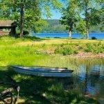 prachtige omgeving met natuurpracht meren en bossen in zweden
