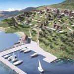 privé jachthaven van hera bay luxury resort 5 sterren op samos eiland griekenland