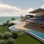 spa en wellness 1200 vierkante meter luxe ontspanning met panoramisch uitzicht over baai in egeïsche zee