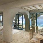 villa kopen samos met privé overloopzwembad infinity fantastisch panoramisch uitzicht over baai in egeïsche zee