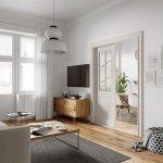 woonkamer na renovatiewerken in appartementen niche belegging via crowdfunding korte looptijd