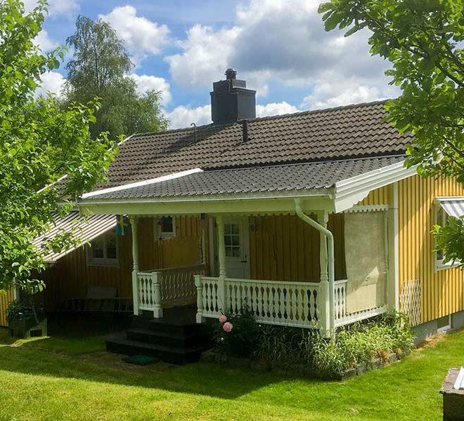 zweeds huis te koop met huurinkomsten via verhuurmakelaar aantrekkelijk rendement
