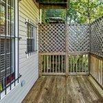 houten balkon op gelijkvloers meerwaarde voor huurders