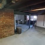 huis is volledig onderkelderd veel extra bergingsruimte vlot toegankelijk met trap
