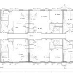grondplan derde verdieping appartementencomplex als investering voor verhuur in verenigde staten