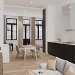 opbrengsteigendom te koop in leuven met privé keuken en badkamer veel natuurlijk licht en inclusief meubilair