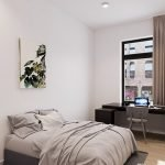 studentenkamer eerste verdieping volledig gemeubileerd met tweepersoonsbed bureau en privé badkamer in leuven te koop
