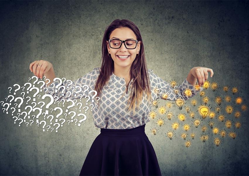onderzoek staat van lokale economie met behulp van doeltreffende vragen