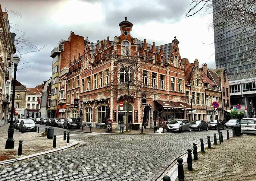 authentieke stijlvolle gebouwen in brussel de hoofdstad van belgië