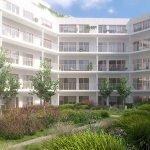 binnentuin van deze nieuwbouw residentie grote troef oase van groen en rust in hartje brussel