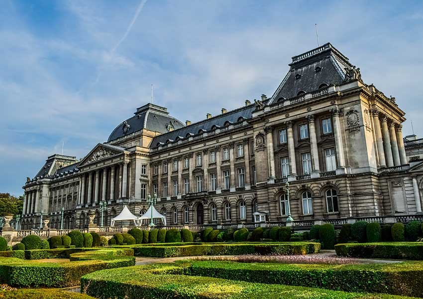 koninklijk paleis in brussel belgië blikvanger van de monarchie