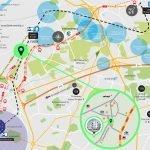 ligging nieuwbouw residentie in evere op kaart en grondplan van brussel