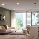 premium afwerking en moderne inrichting met optioneel meubelpakket voor directe verhuur in brussel