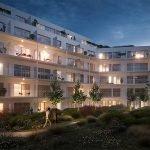 wandelpad in gemeenschappelijke binnentuin premium nieuwbouw appartementen te koop te brussel topbelegging