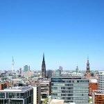 commercieel vastgoed in duitsland maakt deel uit van portfolio vastgoedfonds skyline hamburg financieel zakencentrum