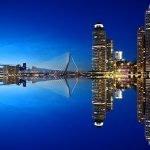 commercieel vastgoed in nederland als belegging via gediversifieerd vastgoedfonds skyline van rotterdam
