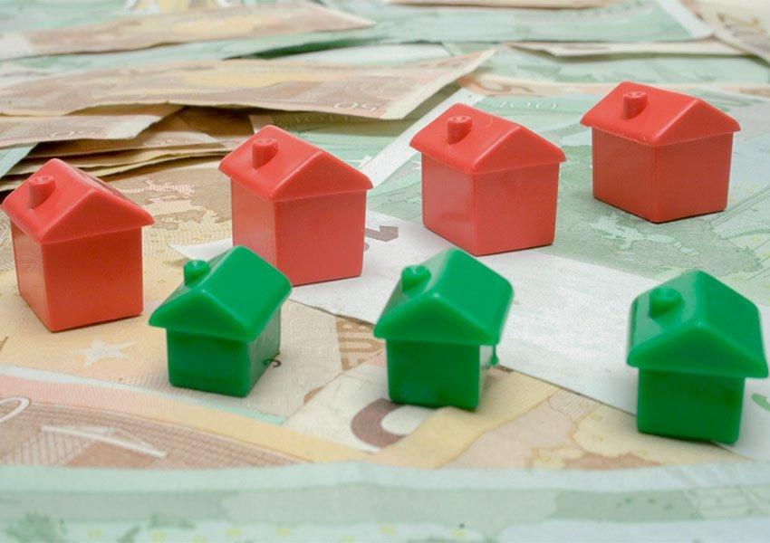evolutie van vastgoedprijzen alleen geeft vertekend beeld over een investeringsmarkt