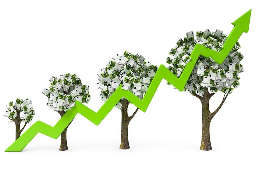 opbrengsteigendommen kopen met lange beleggingshorizon om lange periode in portfolio te houden waardegroei uitspelen