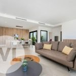 lichtrijk modern interieur nieuwbouw villa te koop spanje aan mar menor