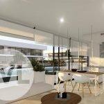 nieuwbouw appartement in spanje te koop met privacy en veel licht op hoek costa cálida gelijkvloers uiteinde U vorm
