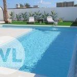 nieuwbouw huis met zwembad te koop spanje aan mar menor santiago de la ribera costa calida murcia