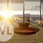 penthouse bij zonsondergang woonkamer eettafel natuurlijk licht nieuwbouw aanbiedingen te koop mar de cristal costa calida spanje