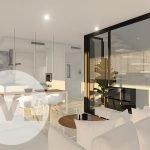 penthouse spanje kopen modern stijlvol interieur 3 slaapkamers mar de cristal costa calida