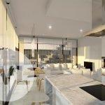 penthouse spanje kopen op hoek eerste verdieping open keuken dakterras veel natuurlijk licht costa calida cartagena murcia