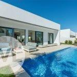 villa te koop in spanje met privé tuin en zwembad en groot terras santiago de la ribera aan mar menor