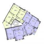 grondplan derde verdieping kamerverhuurpand te koop NRW hagen duitsland