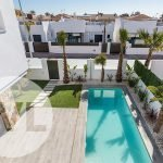 huis kopen costa cálida spanje nieuwbouw privé tuin en privé zwembad