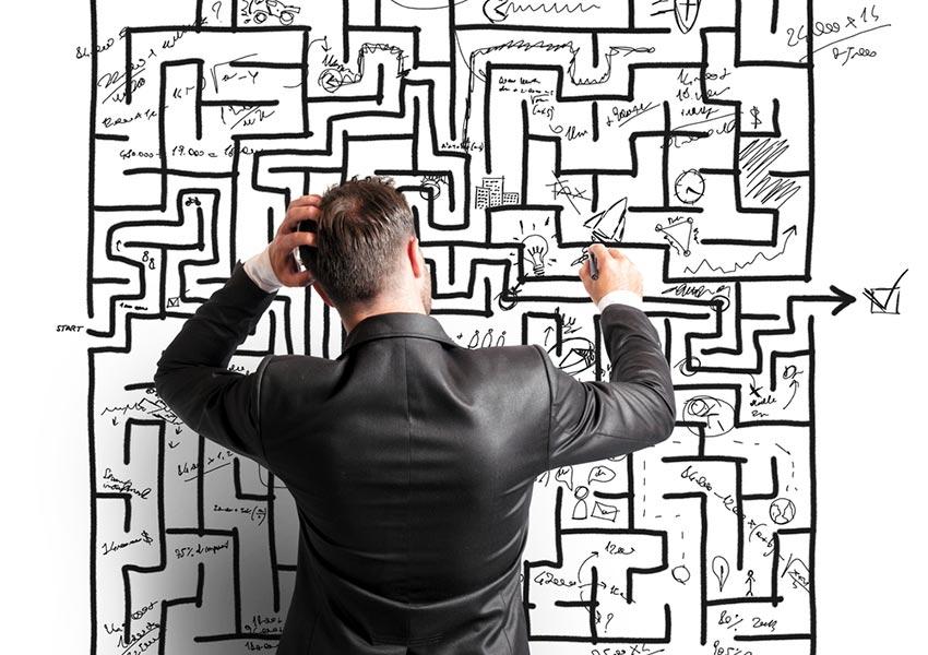 bekijk breed gamma aan risicofactoren inclusief kopzorgen stress aansprakelijkheid en illiquide aard vastgoed