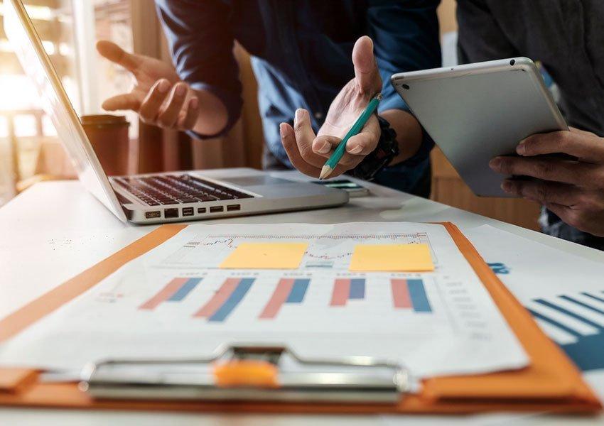 bekijk impact van terugbetalingsvoorwaarden op kasstromen van uw onderneming